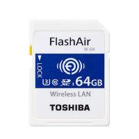 Toshiba东芝 wifi SD卡 64g 32g 相机无线内存卡 FlashAir w-04 无线 wifi存储卡