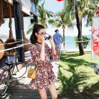 №【2019新款】马尔代夫三亚沙滩裙女小个子普吉岛泰国海边度假套装超仙旅游