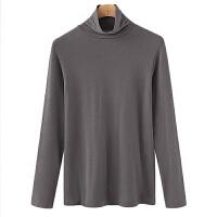 高领打底衫2018秋装新款体恤上衣修身显瘦秋衣长袖T恤女