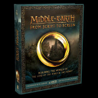 Middle-earth: From Script to Screen 英文原版 中土世界:手稿到银幕 魔戒/指环王