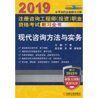 2019注册咨询工程师(投资)职业资格考试教习全书 现代咨询方法与实务