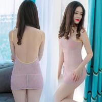 2018春夏新款女装夜店性感透视彩色亮丝露背紧身显瘦包臀连衣裙