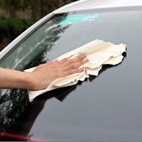 鹿皮擦车巾加厚大号洗车毛巾吸水擦车巾