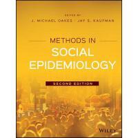【预订】Methods in Social Epidemiology 2E 9781118505595