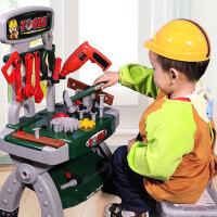 儿童过家家工具箱螺丝刀仿真玩具套装维修理台3-56周岁男孩子宝宝