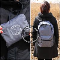 户外可折叠双肩包旅行背包便携登山包防水超轻皮肤包男女学生书包 30升内(两件自动减价)高质量