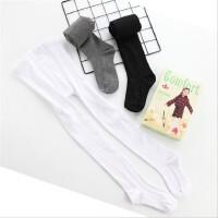 春秋宝宝打底裤女童连裤袜儿童舞蹈裤袜丝袜婴儿长筒白色薄款