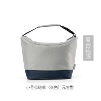 手提饭盒袋保温牛津布铝膜便当包可爱带饭手提保温包