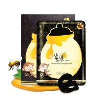 春雨(papa recipe)黑蜂蜜面膜 卢卡黑面膜 补水提亮肤色 10片/盒