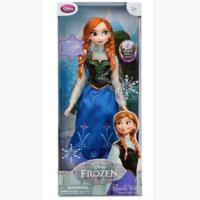 现货迪家冰雪奇缘唱歌艾莎爱莎公主感应音乐发光安娜娃娃人偶玩具 40厘米-49厘米