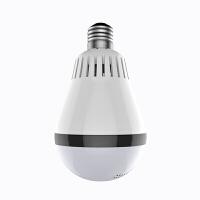 摄像头 Q7H 360度灯泡全景摄像头 手机远程无线wifi高清套装 家用监控器