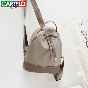 卡帝乐牛津布双肩包女新款韩版休闲旅行尼龙旅行包