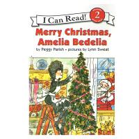 英文原版 Merry Christmas, Amelia Bedelia [4-8岁]