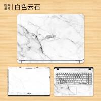 华硕畅玩版Y5000贴纸顽石笔记本电脑贴膜15.6英寸全套外壳保护膜
