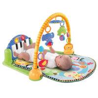 琴琴婴儿健身器新生儿音乐钢琴架W2621早教子宝宝玩具 抖音 W2621