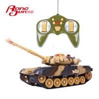 大号遥控坦克模型对战坦克车 充电遥控车越野电动儿童玩具 男孩