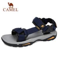 camel 骆驼2018夏季户外沙滩鞋女休闲运动凉鞋男防滑涉水平底凉鞋
