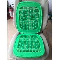通用双层加厚汽车夏季塑料座垫面包车货车出租车叉车塑胶座垫! 绿色