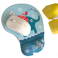动漫可爱鼠标垫护腕家用3D卡通硅胶手枕记忆棉厚游戏手腕垫托腕