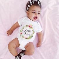 INS婴儿三角哈衣夏装纯棉宝宝包屁衣6个月新生儿连体衣爬服夏3岁