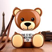 可爱小熊充电宝12000毫安可爱超萌卡通苹果小米通用移动电源潮礼