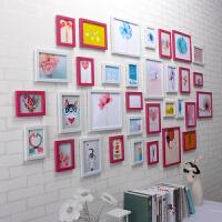 照片墙装饰夹子悬挂无痕钉画框挂墙客厅创意相框组合网格相片墙