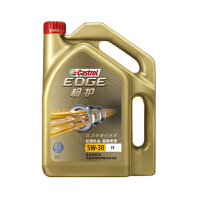 嘉实多(CASTROL) 动力版极护(EDGE Sport) 全合成发动机油 5W/30 SN/CF (4L)