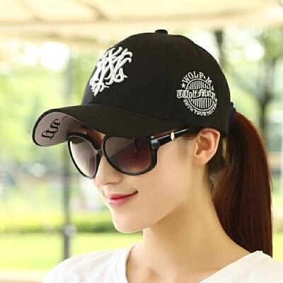 帽子女夏季韩版潮棒球帽学生休闲百搭太阳鸭舌帽街头