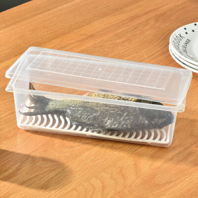 百露 厨房分类沥水保鲜盒 4个装